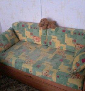 Детская кроватка (мини-диван) трансформер