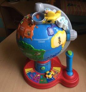Глобус-интерактивный-развивающий