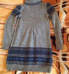 Тёплое платье