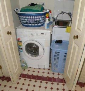Подключение стиральных машин. Сантехник.