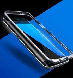 металлический бампер для Samsung Galaxy S7