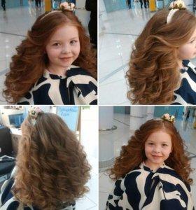 Прически,плетение кос