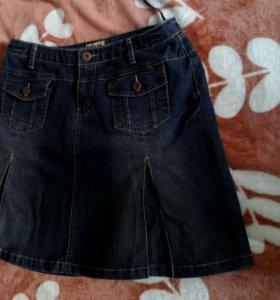 Юбка джинсовая р-р 46-48