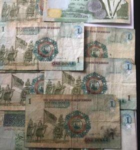 Банкноты Иордании