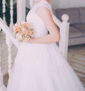 Шикарное свадебное платье платье
