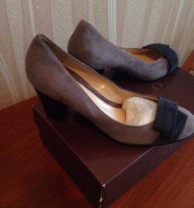 Туфли ARGO натуральная замша 39р