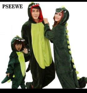 Пижама дракончики