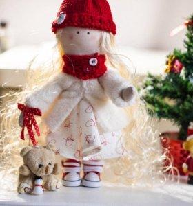 Интерьерные куклы ручной работа