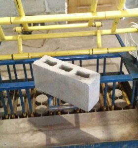 Станок по производству стенового блока