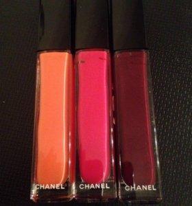 Chanel rouge allure gloss блески для губ