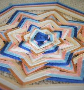 Плетение мандалы, обучение