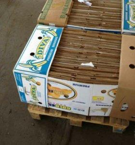 Банановые коробки б/у
