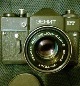 Зенит + Helios 44M-6