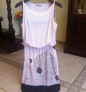 Платье шелковое Италия