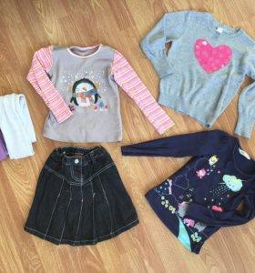 Набор одежды (юбка, кофты,колготки)