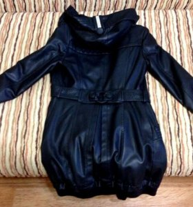 Женская коженая куртка