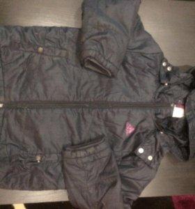 Куртка для девочки от 4 до 6 лет