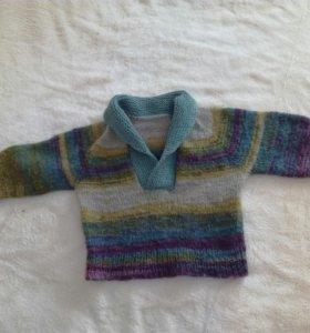 Теплый пуловер