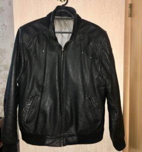 Куртка кожаная мужская, натуральная кожа