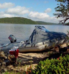 Срочно!!!Моторная лодка с мотором