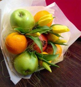 Букеты фруктовые.