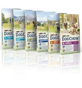Корм для собак Dog Chow 14кг