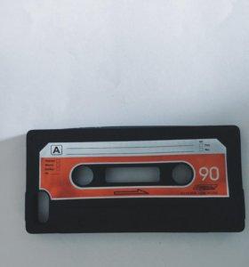 Чехол на IPhone 5,5s, силиконовый
