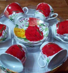 Чайный набор (сервиз) новый