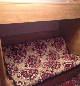 Даухъярусная кровать-диван
