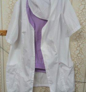 Медицинский костюм: штаны(52) халат(48-50) шапочка