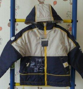 Куртка новая на весну. 98 и 104