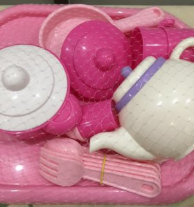 Новый набор посудки 19 предметов