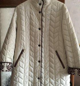Пальто демисезонное !размер 52-54