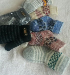 Носочки варежки