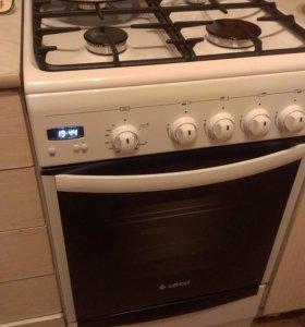Плита с электроподжигом, грилем