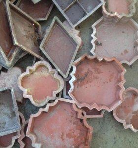 Вибростол и Формы тротуарной плитки+краска