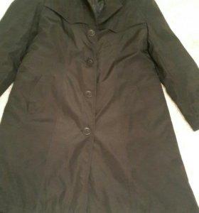 Пальто утепленное 50-54р