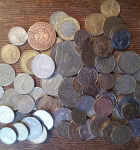 Монеты разных годов