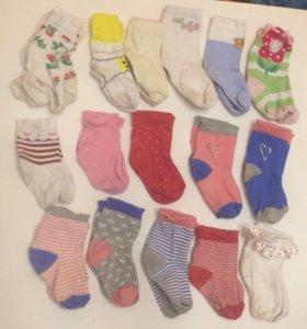 Носки детские  на 1.5 года