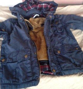 Куртка 5-6 лет демисезонная