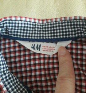 Рубашка для мальчика 4-5 лет
