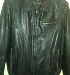 Кожанная куртка мужская