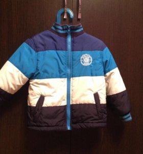 Куртка для мальчика 1-2г демисезонная