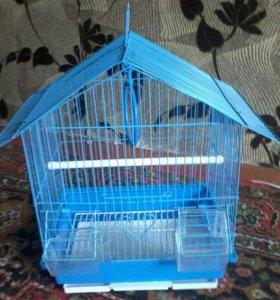 Новая клетка для птиц