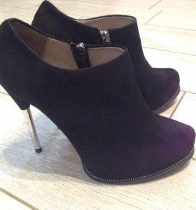 Ботильоны (ботинки) Zara