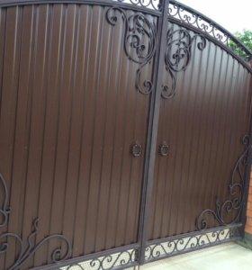 Заборы навессы ворота