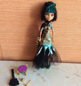 Кукла монстр хай Клео де Нил!!