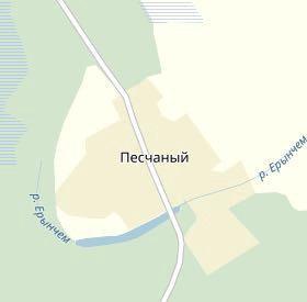 Земельный участок п.Песчаное
