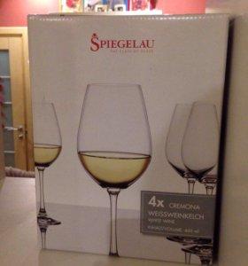 Новые бокалы для белого вина(наборы по 2и4).