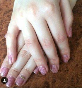 Наращивание ногтей и шеллак